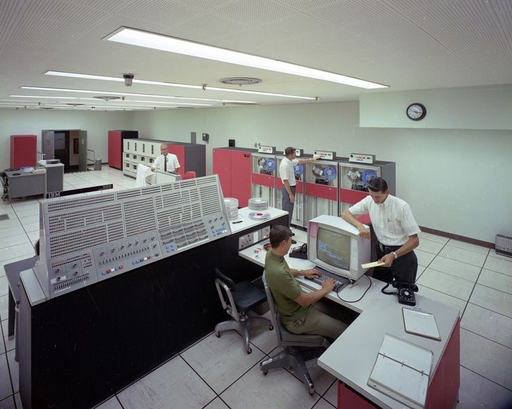 1960s at Oak Ridge National Laboratory and the IBM 360.  An iPod has more memory than the supercomputer of this era.