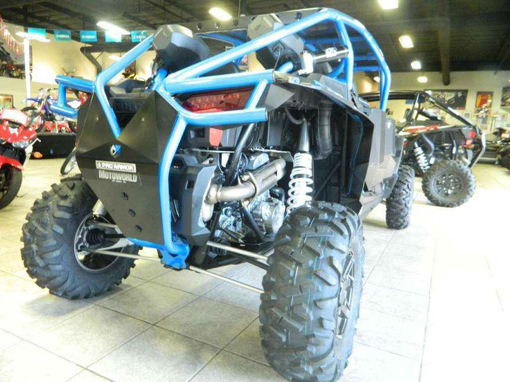 New 2016 Polaris RZR XP® 4 1000 EPS ATVs For Sale in California. 110 hp ProStar® 1000 H.O. engine Exclusive Walker Evans needle shocks High-flow clutch intake system Dimensions: - Wheelbase: 117 in. (297.2 cm) Other: - Notes: RZR® Models (Excluding YOUTH) Warning: The Polaris RZR® can be hazardous to operate and is not intended for on-road use. Driver must be at least 16 years old with a valid driver's license to operate. Passengers must be at least 12 years old. Drivers and passengers…