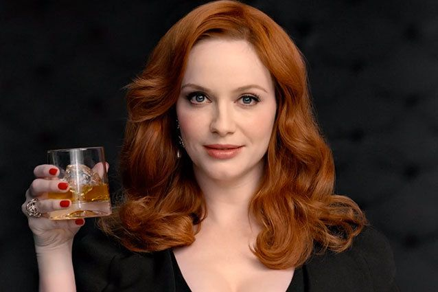 Johnnie Walker commercial, Christina Hendricks
