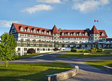 Top 20 Resorts in Canada: Readers' Choice Awards 2015 - Condé Nast Traveler | #14 The Algonquin Resort in Saint Andrews, New Brunswick