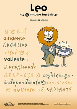 Leo, 12 virtudes de tu signo | Lleó, les teves 12 virtuts irresistibles