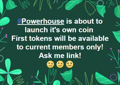 Exciting times ahead for Powerhouse!  Hey guys! :) Check my newest update from my Blog! This time it's about some exciting news for #PowerhouseNetwork!  #Bitcoin #Altcoin #Cryptocurrency #Coin #EarnWhileYouSleep