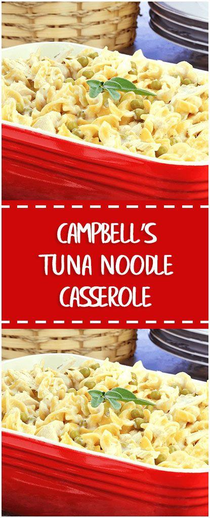 Campbell S Tuna Noodle Casserole Campbells Tuna Noodle Casserole Whole30 Foodlover Ho