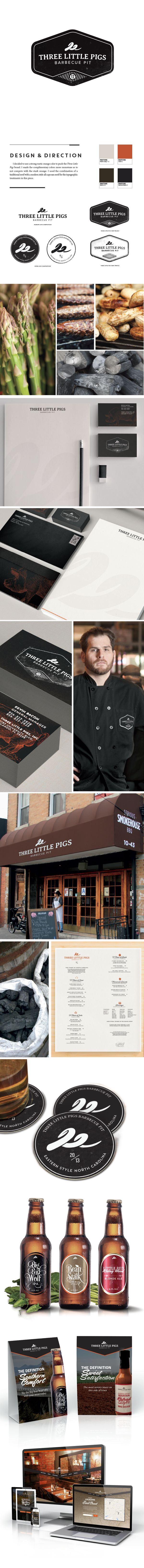 Three Little Pigs Barbecue Pit by Christopher Reath, via Behance