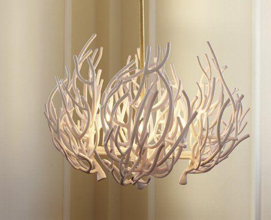 Sea Coral Decor | Coral Chandelier - Decorati
