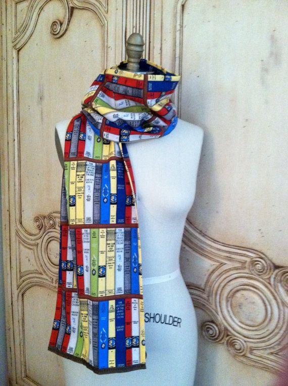 Nancy Drew Scarf Needlewoman Designs 100 by NeedlewomanDesigns