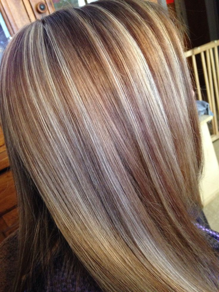 101 best hair highlights images on pinterest hair highlights 3 color hair color foiled pmusecretfo Gallery