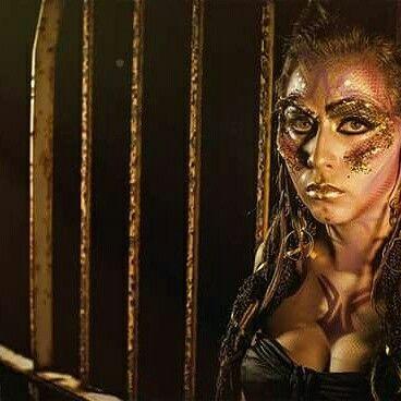 Maquillaje para video clip.  #makeup #artistic #aura #gkimagensalon #GkGrandesKreadores #aerografo #maquillaje #artistico