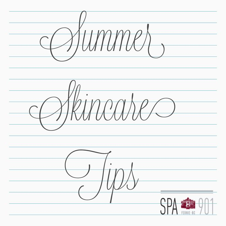 Read about our Skincare tips to survive the Summer!