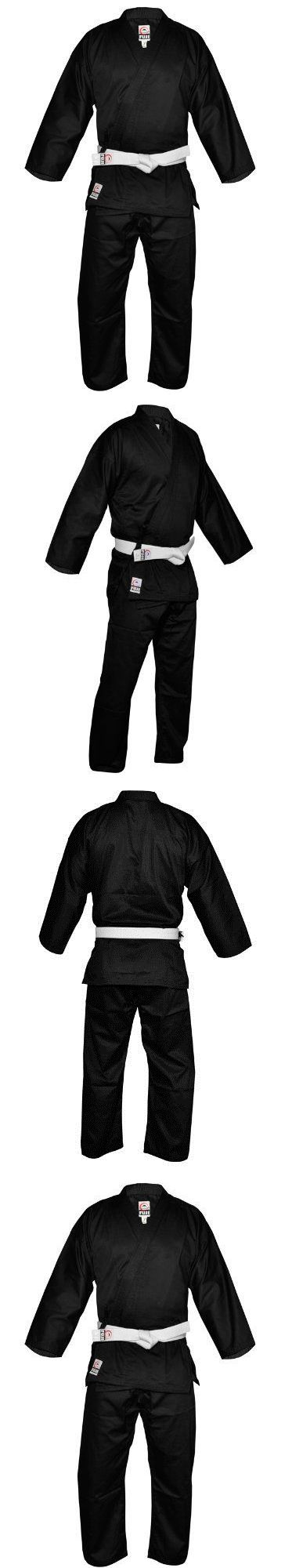 Jackets 179771: Fuji Karate Uniform Black 2 Mens Martial Arts Uniform Jacket, New -> BUY IT NOW ONLY: $47.92 on eBay!