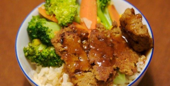 oyako donburi for dinner...