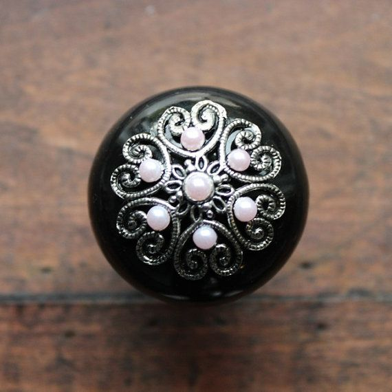 Awesome Black Ceramic Cabinet Knobs