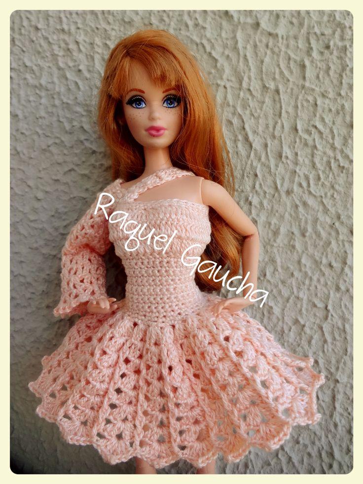 Crochet Pattern Central Barbie Clothes : 1000+ ideas about Crochet Barbie Clothes on Pinterest ...