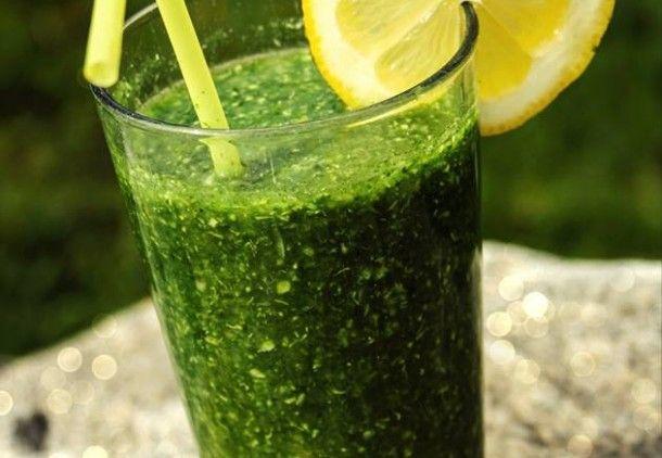 Zelené smoothie foto