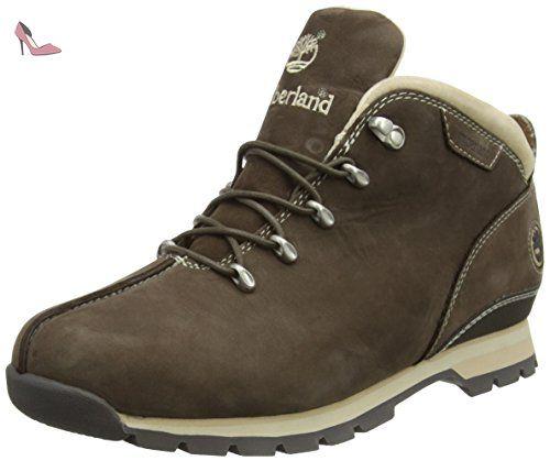 Timberland  Splitrock, Bottes Classiques homme - Marron - Marron, 44 - Chaussures timberland (*Partner-Link)
