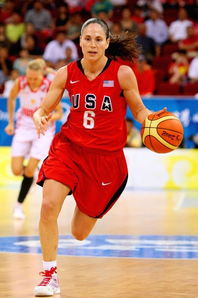 One of the best point guards in basketball history -- Sue Bird.