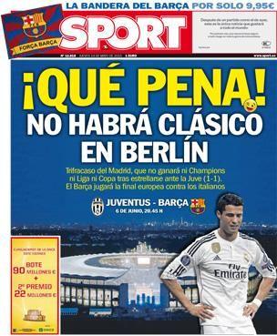 Portadas de los periódicos deportivos de España y Europa hoy Jueves, 14 de mayo de 2015 - MARCA.com