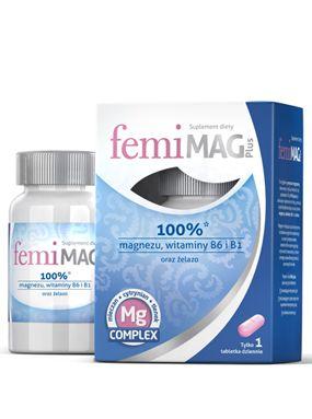 FEMIMAG PLUS x 30 tablets woman body