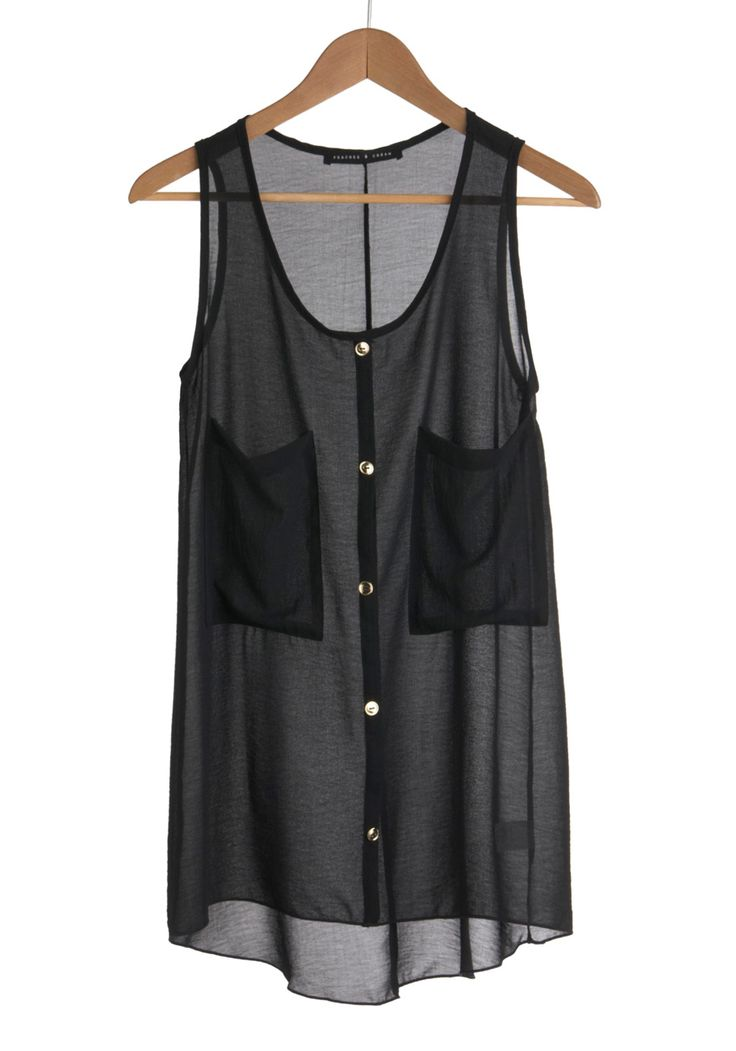 sheer: Black Top, Closet A S A P, Style, Sheer Top, Tanktop, Find It S
