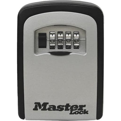 Master Lock Mounted Key Storage 5401D Unit: Each, Silver steel