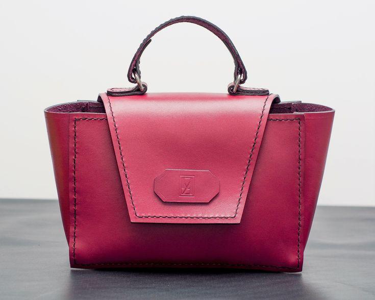 Office handcrafted leather handbag