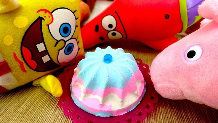 Мягкие игрушки Губка Боб и Свинка Пеппа. Игры для девочек: Как готовить ...