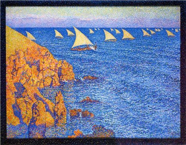 Le regate dipinte dei grandi artisti - Sailing & Travel Magazine