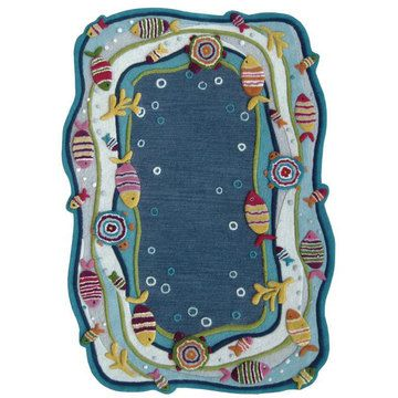 Fish Land Blue by NuLOOM sold on fab.com