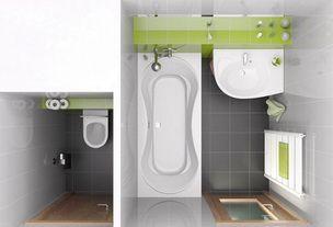Гулливер - тариф для ремонта раздельного санузла с ванной комнатой 170х170 и туалетом 120х80.