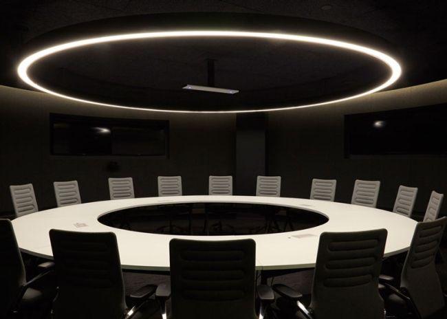 A może sala konferencyjna prosto z filmu Sience fiction? Czemu nie! Zobacz jak wyglądają poszczególne przestrzenie biurowe siedziby AirBnB w San Francisco i zainspiruj się! Sala konferencyjna prosto ze Star Wars - to jest to!