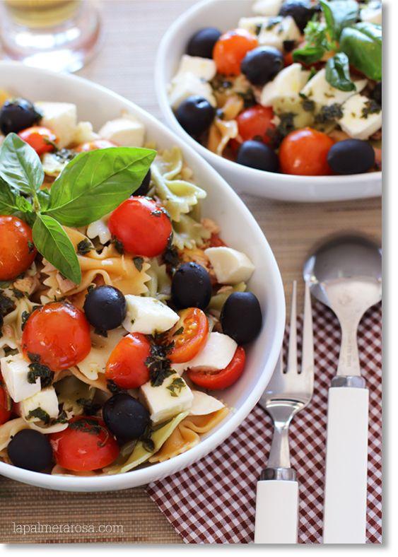 1000 images about recetas ensaladas on pinterest - Ensalada de arroz con atun ...