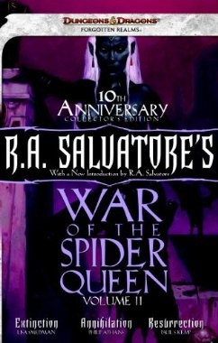 Amazon.com: R.A. Salvatore's War of the Spider Queen, Volume II: Extinction, Annihilation, Resurrection (Dungeons & Dragons) (9780786960286): Lisa Smedman, Phillip Athans, Paul S. Kemp: Books
