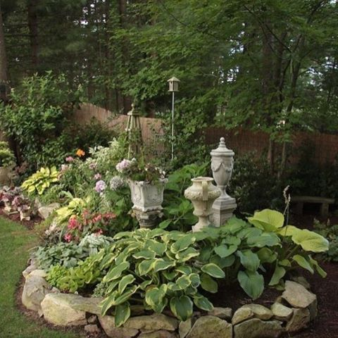 Adding decorative statues, elements, and art pieces to gardens and Landscapes adds an enchanted feel to any garden. #enchantedgardens#gardens#memorygarden#lovegardens#hevenlygardens#hopegardens#inspirationalgardens#buckheadlifestyles