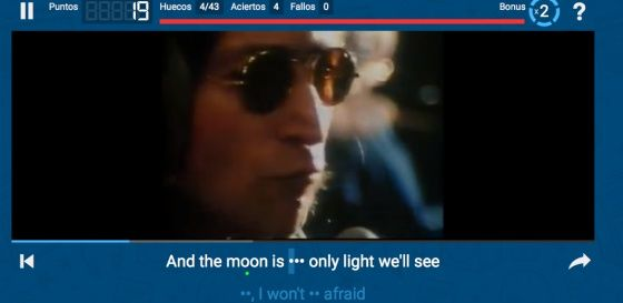 Vídeo: filling up the gap with lyrics | Verne EL PAÍS