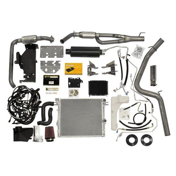Aev 40307011ab 5 7l V8 Hemi Conversion Kit For Jeep Quadratec Hemi Jeep Jeep Wrangler Jk