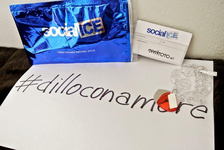 Dillo come vuoi... ma #dilloconamore ! #socialicejewels
