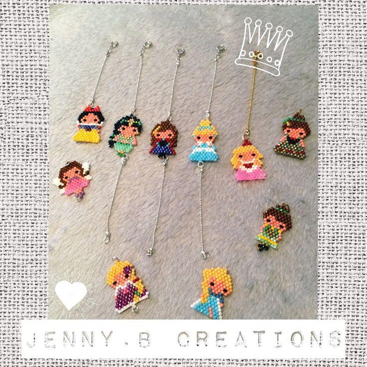 Bracelet Princesse ou Fée en perles miyuki : Bracelet par jenny-b-creation