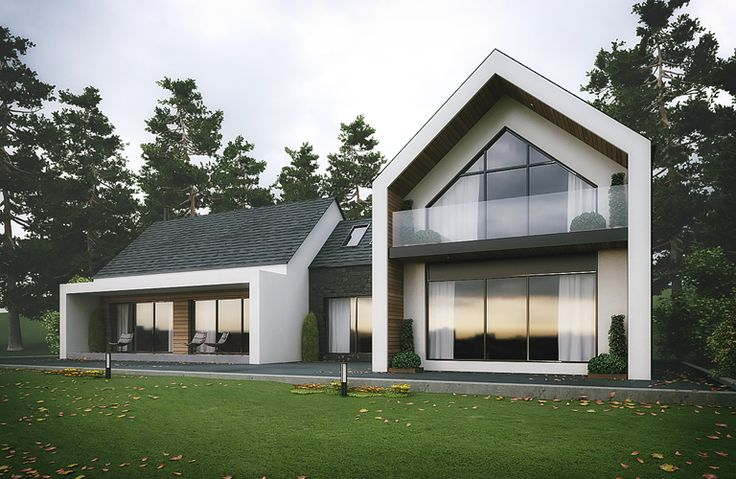 Modern house in Slieve Gullion, Newry, County Armagh designed by eco house Architects Slemish Design Studio. architects covering Northern Ireland & Ireland