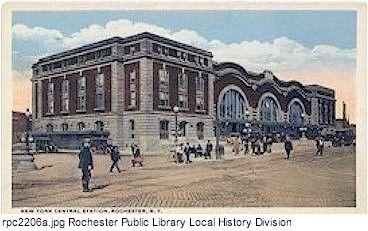 new york central railroad, Rochester