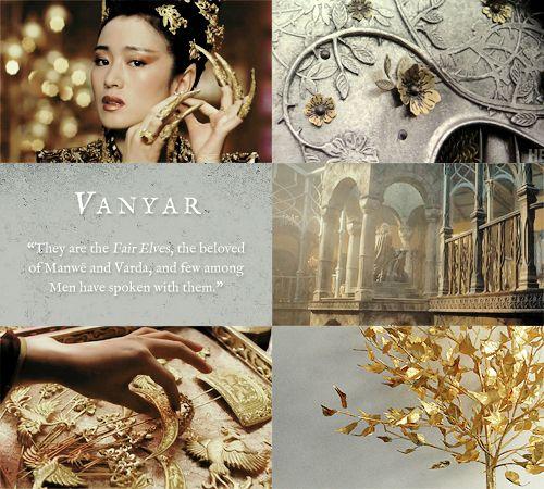 Vanyar - the Fair Elves