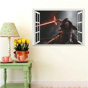 3D Wandtattoo Star Wars Darth Vader
