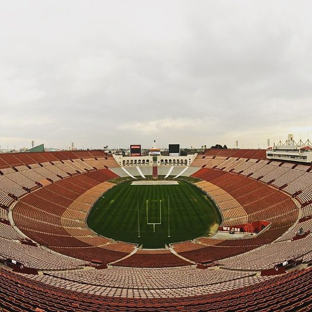 The Los Angeles Coliseum home of the Los Angeles Rams, USC football, and host of the 1984 Summer Olympic Games was one the main attraction of entertainment not just in Southern California but in the United States. It relates to Roman legacy because the Coliseum in Ancient Rome was also a main attraction for entertainment & gladiator battles. The Los Angeles Coliseum was founded based on gathering its citizens for entertainment like in Ancient Rome with their coliseum.