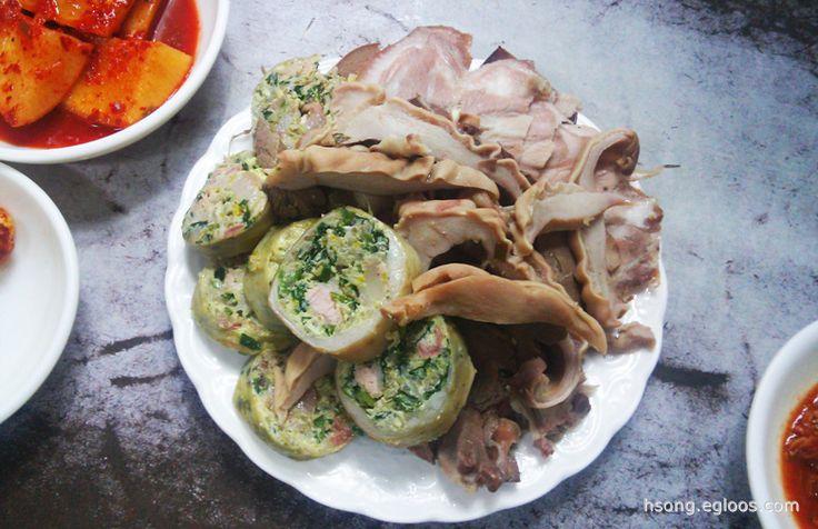 [을지로4가] 전통아바이순대 - 야채 순대 http://hsong.egloos.com/3492485