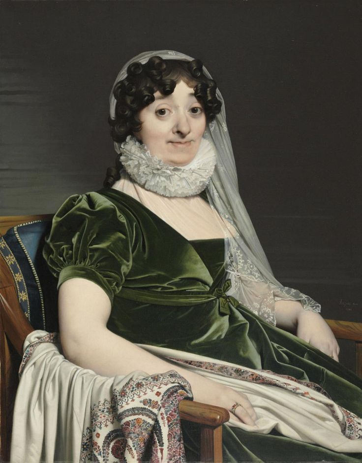 Ingres, Jean-Auguste Dominique - Portrait de la comtesse de Tournon - Philadelphia Museum of Art