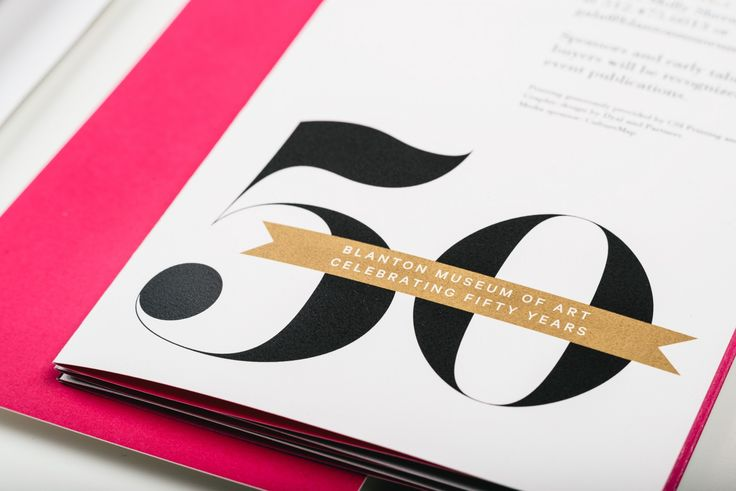 The Blanton Museum of Art 50th Gala — Dyal — Branding & Graphics