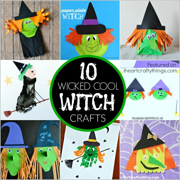 10 Wicked Cool Halloween Witch Crafts