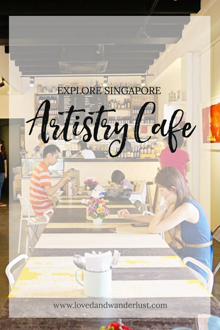 Artistry Café is a coffee shop and gallery in one. It's a nice place to indulge with an all-day-breakfast and also a venue for budding artists to debut their painting exhibitions, or hold musical performances, talks and events.