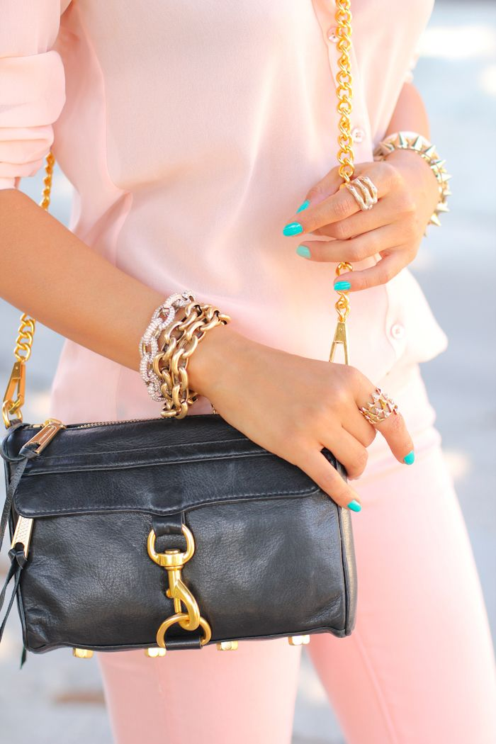 {VIVALUXURY: MINI ON MY MIND - WIN A REBECCA MINKOFF BAG} inspired by the goes-with-everything bag + jeweled goodness!