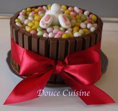 Un joli gâteau de Pâques