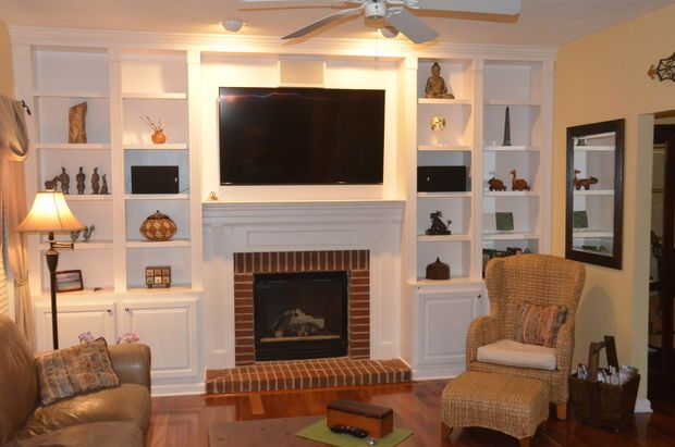 Best 25+ Fireplace bookcase ideas on Pinterest